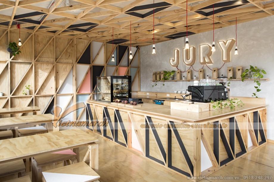 Ấn tượng với thiết kế quán cà phê thân thiện với môi trường