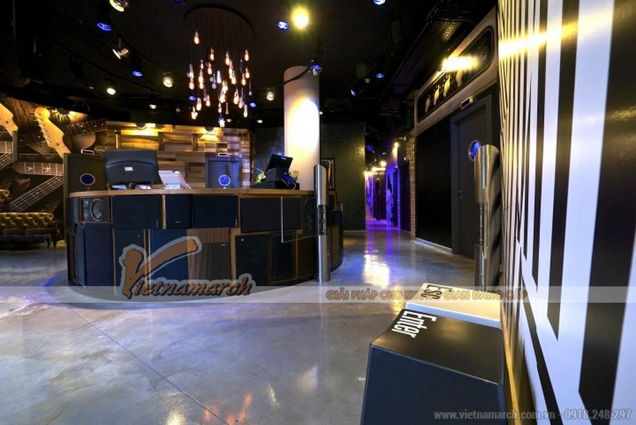 Thiết kế quán karaoke đẹp, ấn tượng giúp thu hút khách