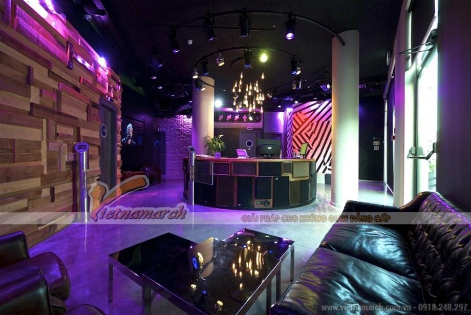 Thiết kế quán Karaoke đẹp ấn tượng