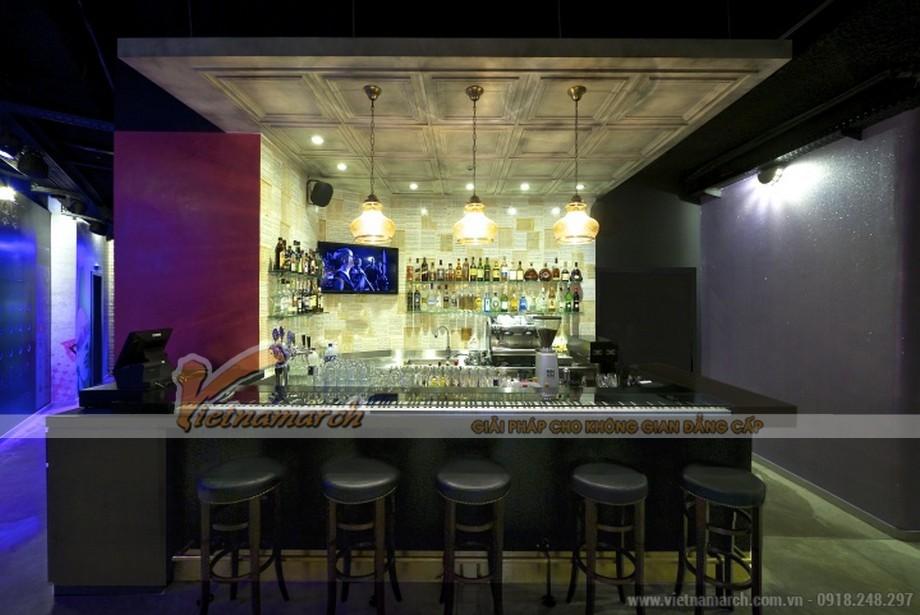 Ấn tượng với thiết kế quán karaoke mang đậm chất âm nhạc