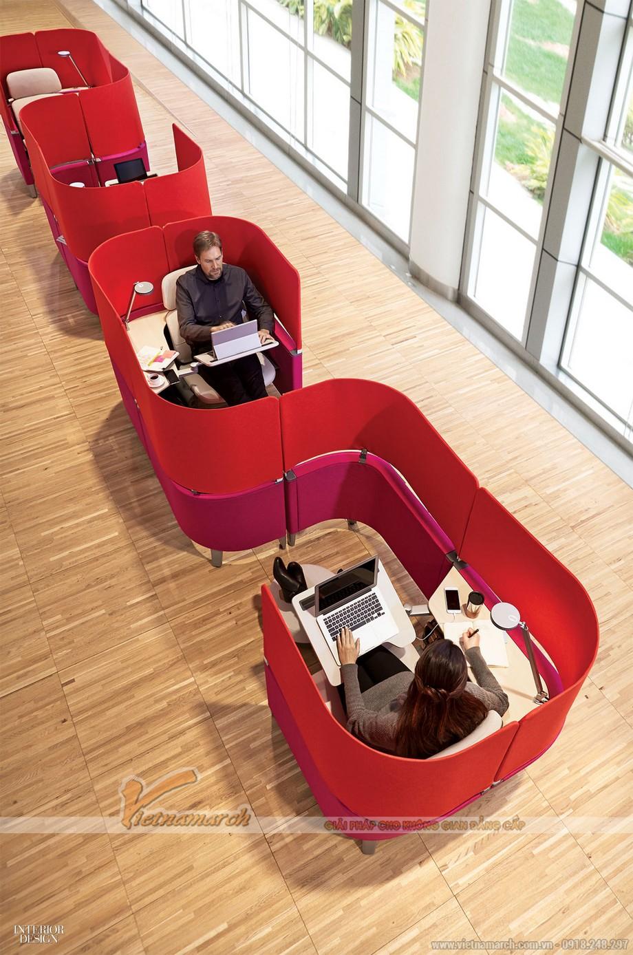 Tối ưu hóa không gian làm việc trong thiết kế văn phòng