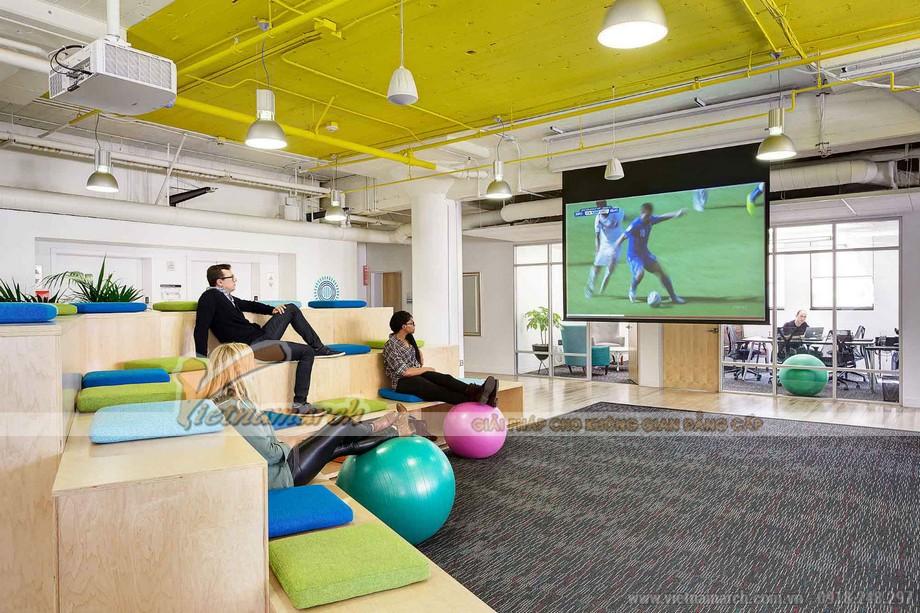 Văn phòng có không gian giải trí