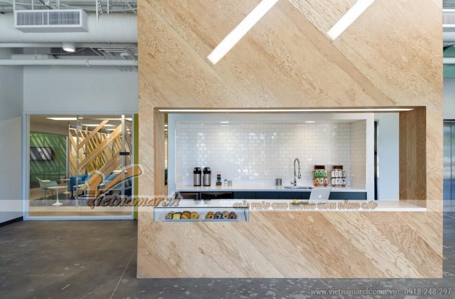 Thiết kế văn phòng với nhà bếp mở