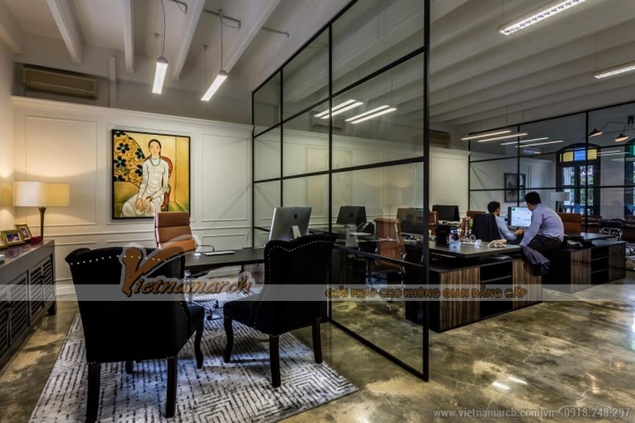 Kính chia ô - một ý tưởng sáng tạo trong văn phòng