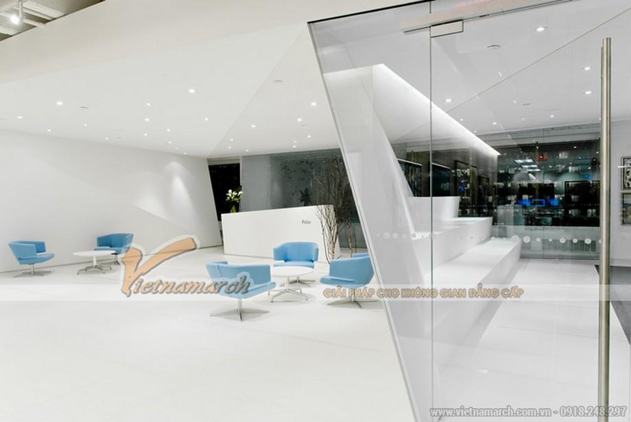 Bàn ghế thấp được ưu tiên giúp tăng diện tích văn phòng