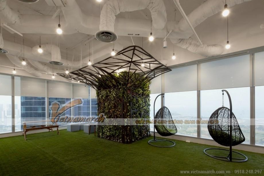 Rực rỡ màu sắc trong thiết kế văn phòng hiện đại