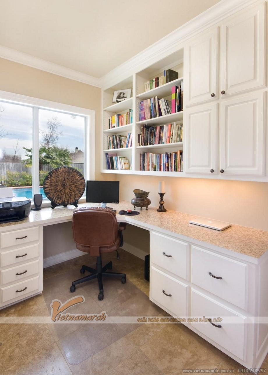 thiết kế văn phòng tại nhà hoàn hảo