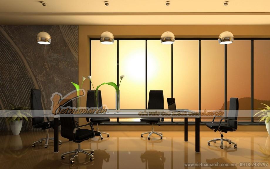 Văn phòng cần có không gian bằng kính