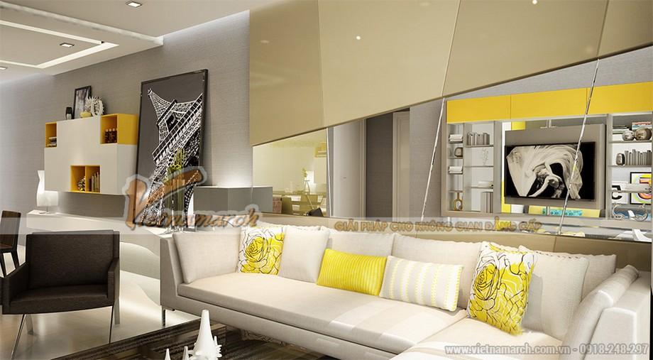 Thiết kế nội thất căn hộ 6, 11 Park 7 chung cư Times City Park Hill