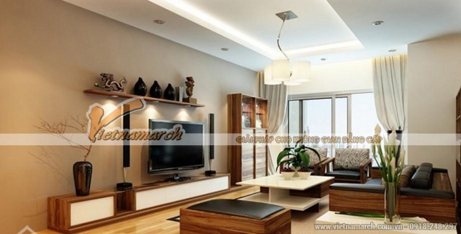 Thiết kế, thi công hoàn thiện nội thất căn hộ Royal City nhà chị Phượng