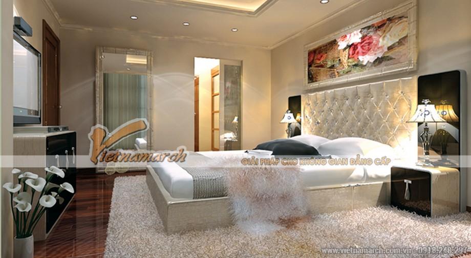 Thiết kế phòng ngủ căn hộ chung cư Royal City
