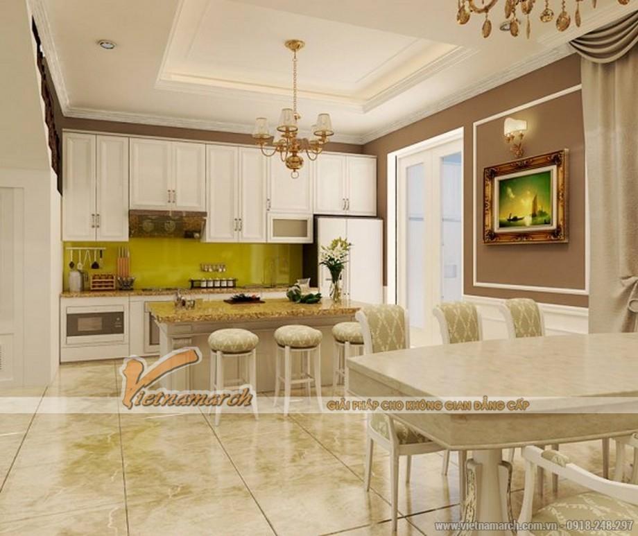 Thiêt kế nội thất phòng bếp căn hộ chung cư  Royal City-05