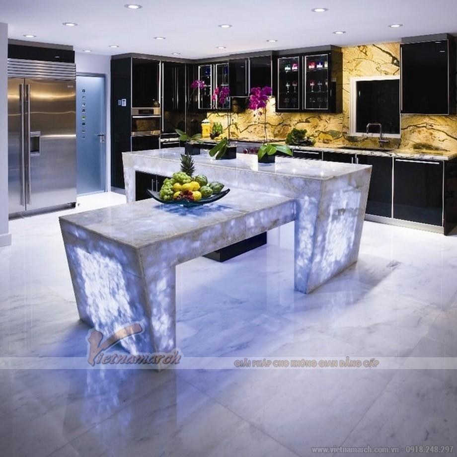 """Thiết kế nội thất nhà bếp """"đẹp, độc, lạ"""" với tủ bếp cao cấp"""