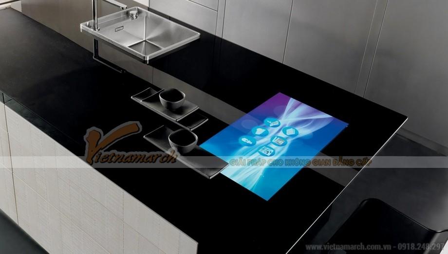 Thiết kế tủ bếp với công nghệ cao cấp