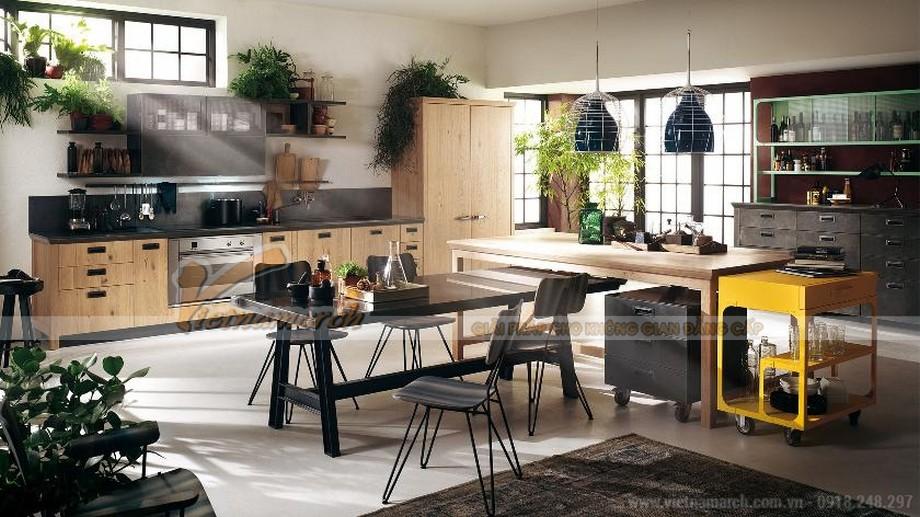 Mẫu thiết kế tủ bếp tiện nghi