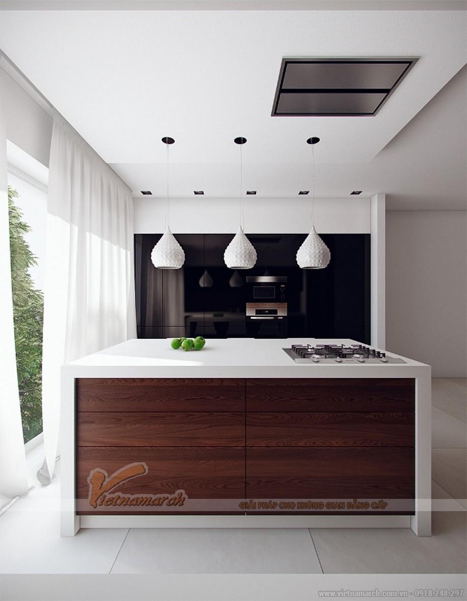 Thiết kế tủ bếp đơn giản nhưng hoàn hảo