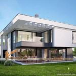 Tư vấn thiết kế biệt thự 2 tầng đẹp, có bể bơi tại Quảng Ninh