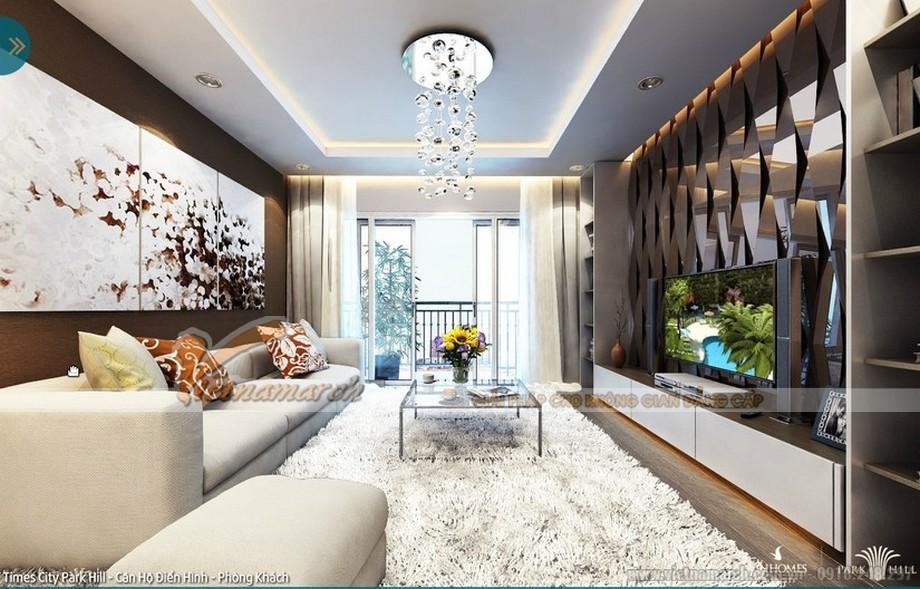 Thiết kế nội thất sang trọng cổ điển trong phòng khách