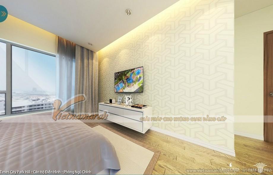 Thiết kế nội thất chung cư đơn giản và nhẹ nhàng sâu lắng để mang đến giấc ngủ ngon cho gia chủ