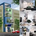 Thiết kế nhà lô phố 5 tầng cho anh Hải – Hải Phòng