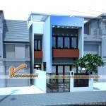 Thiết kế nhà phố 3 tầng hiện đại cho anh Đức – Hà Nội