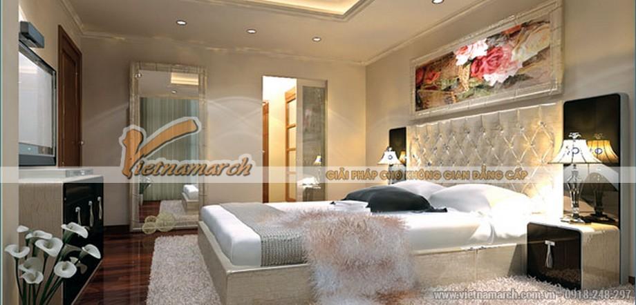 Thiết kế nội thất phòng ngủ ấm cúng căn hộ chung cư-01