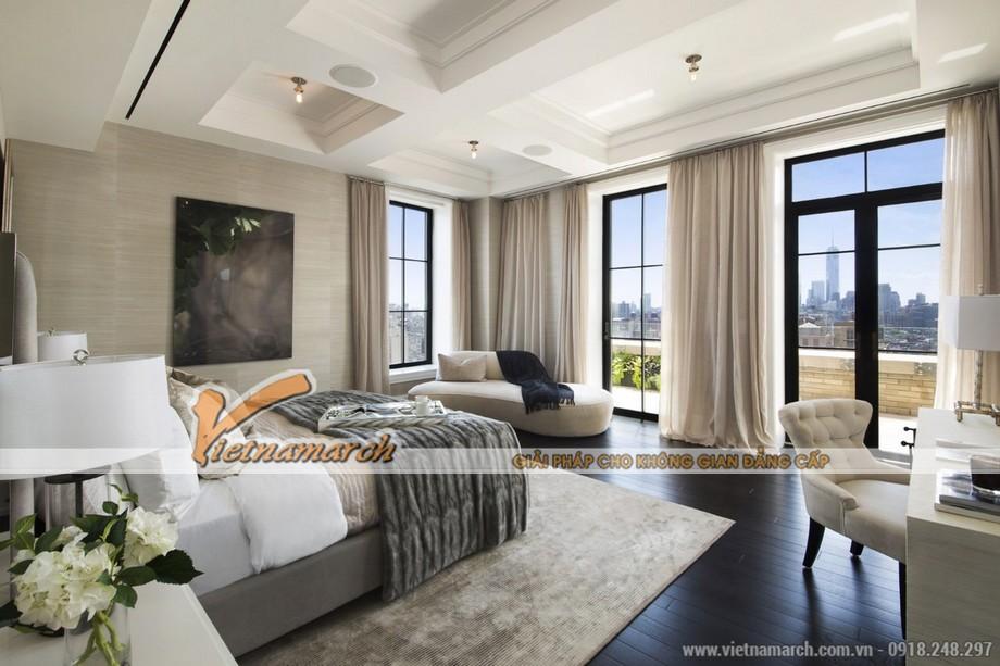 Thiết kế phòng ngủ lịch sự