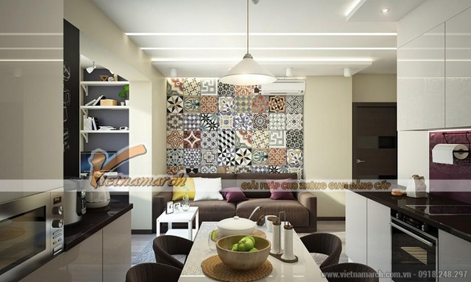 Thiết kế nội thất chung cư Park Hill Times City căn hộ 52 m2