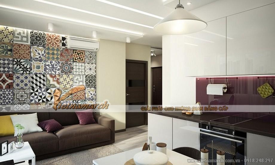 Thiết kế nội thất chung cư Park Hill Times City căn hộ có diện tích nhỏ