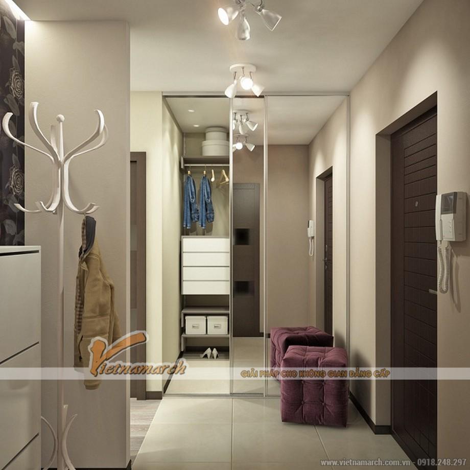 Một góc phòng tắm hoàn hảo trong căn hộ 52m2