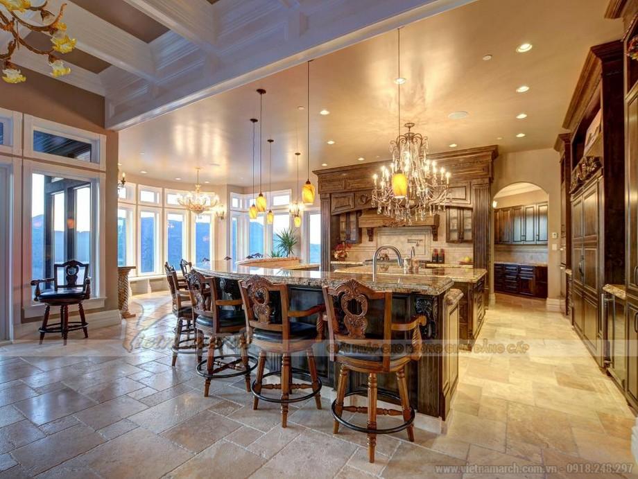 Thiết kế nhà bếp cho những ai yêu thíc nội thất đồ gỗ