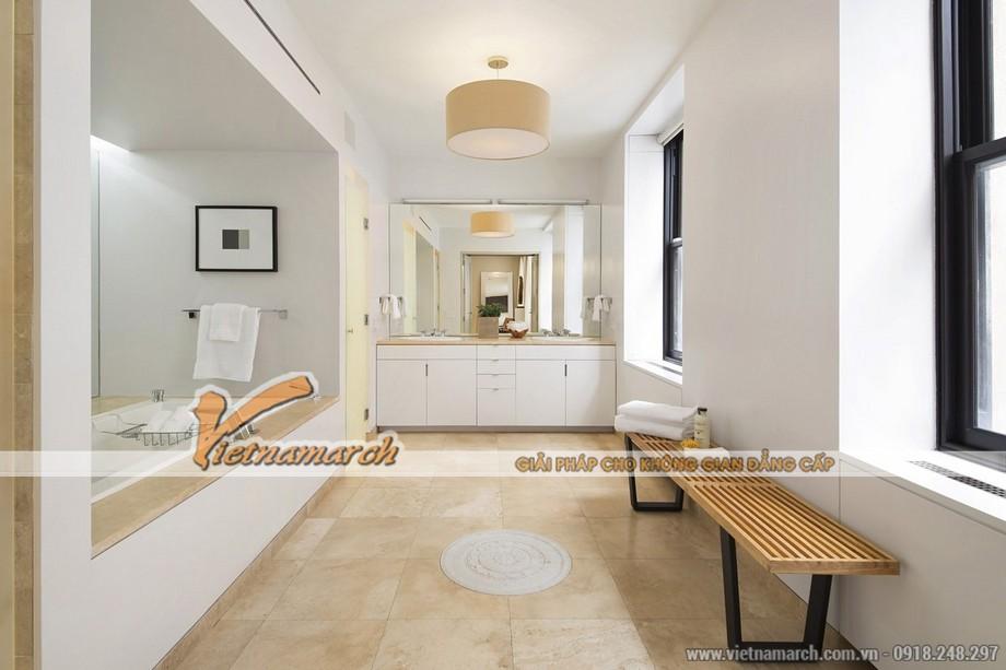 Phòng tắm cao cấp thiết kế hiện đại