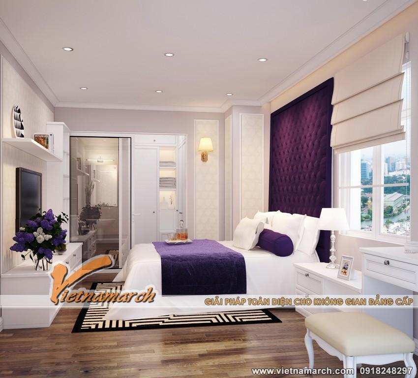 Thiết kế phòng ngủ êm ái