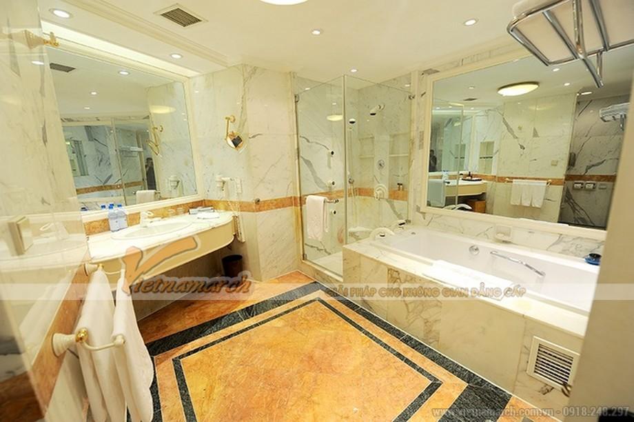 Thiết kế nội thất phòng tắm hiện đại mang phong cách Tây