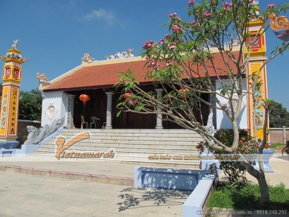 Thiết kế, thi công nhà thờ gỗ của dòng họ Lưu tại Thanh Hóa
