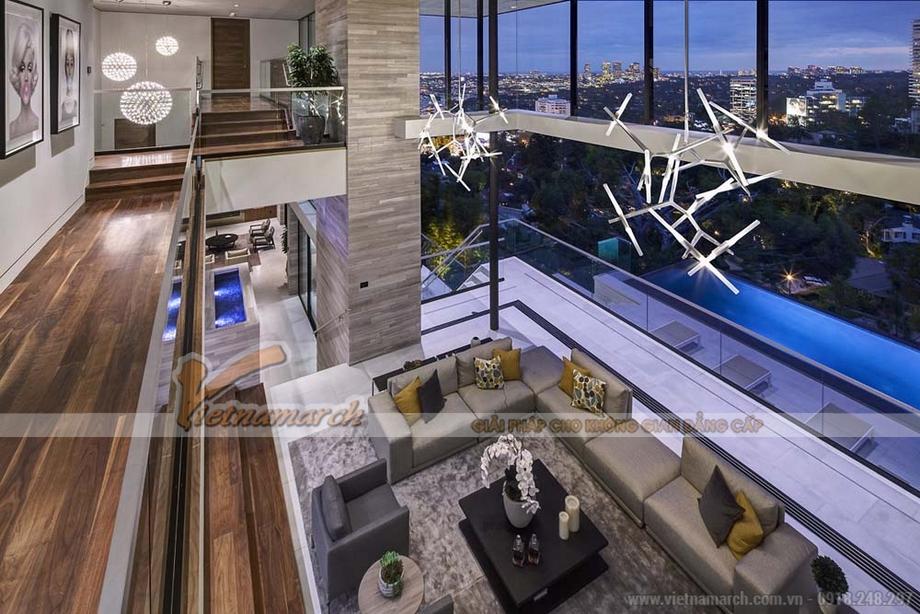Thiết kế nội thất căn hộ Penthouse đẹp độc mới lạ