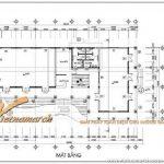 Hồ sơ thiết kế kiến trúc và thi công biệt thự kết hợp nhà hàng Handico 68 Hà Nội