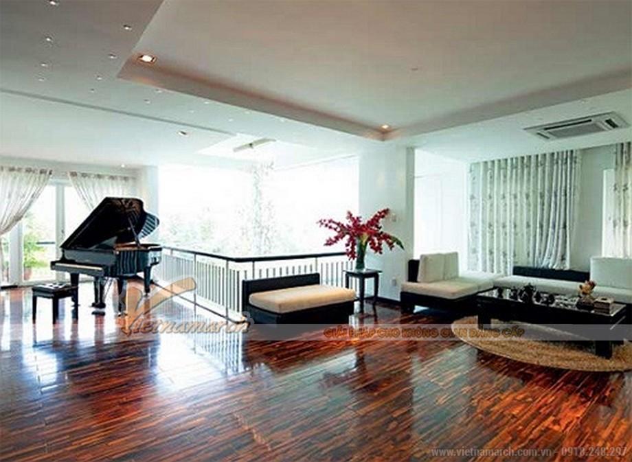 Kiến trúc đơn giản, nội thất tinh tế trong căn biệt thự Hà Hồ