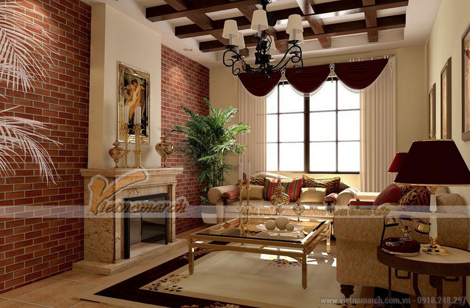 Gạch và đá ốp tường - ý tưởng thiết kế nội thất độc đáo cho ngôi nhà