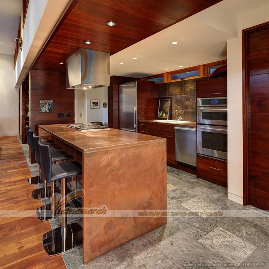 Thêm ý tưởng thiết kế nội thất phòng bếp siêu đẹp cho nhà bếp chung cư