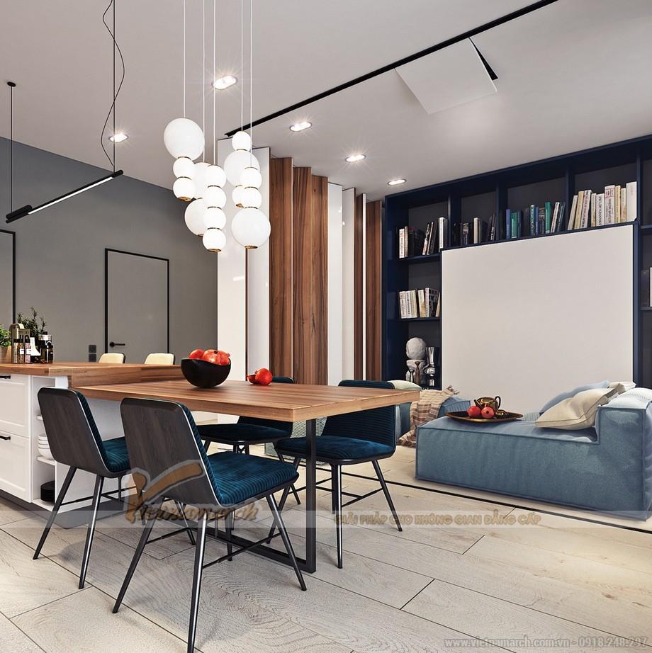 Nội thất phòng khách đẹp ấn tượng trong căn hộ Park Hill