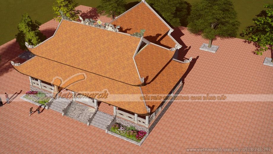Toàn cảnh thiết kế kiến trúc chùa Sùng Ngọc - Hải Dương