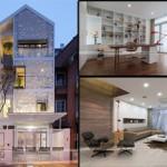 """Độc đáo với ý tưởng ngôi nhà có kiến trúc """"tổ kén"""" thiết kế nhà mặt phố 4 tầng"""