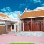 Kiến trúc, nội thất ngôi nhà thờ tổ 5 gian nhà bác Trọng tại Khoái Châu – Hưng Yên