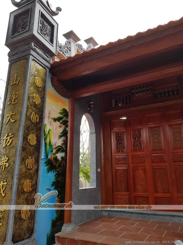 Kiến trúc nhà gỗ cổ truyền - nhà thờ tổ dòng họ Phạm tại Văn Lâm Hưng Yên