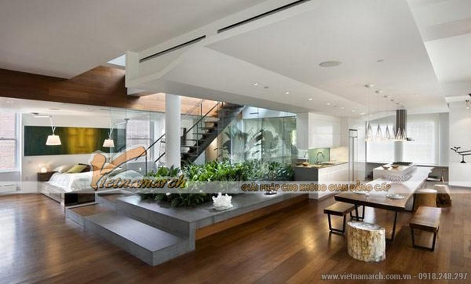 Thiết kế Penthouse hiện đại và đẳng cấp