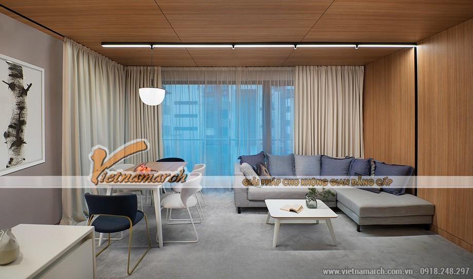 Thiết kế căn hộ 10 Park 6 chung cư Park Hill Times City đẹp cá tính