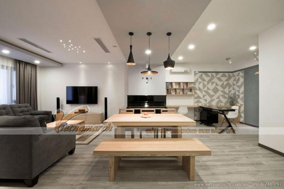 Trần thạch cao phòng bếp TC15