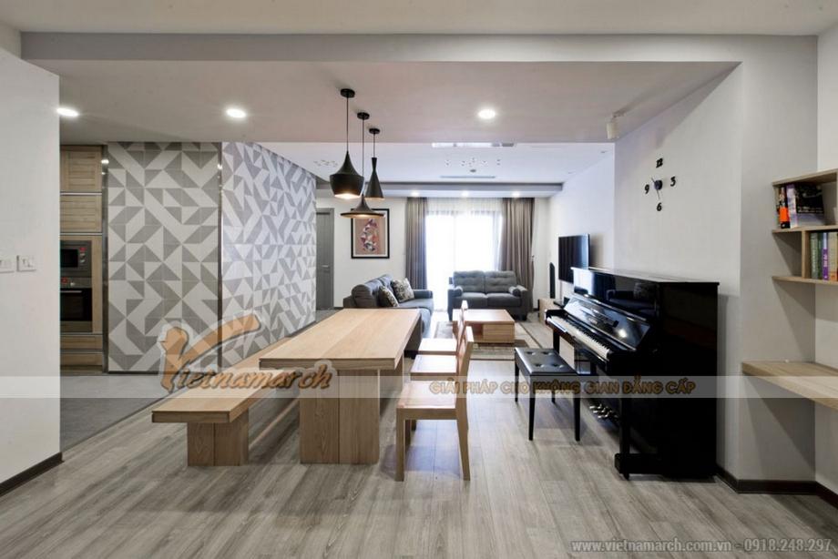 Thiết kế nội thất đơn giản mà hiện đại