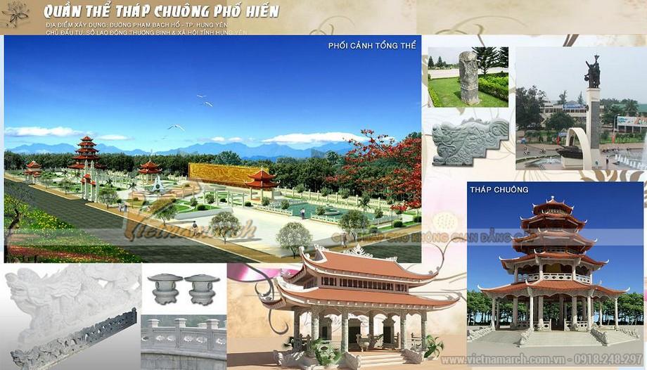 Kiến trúc tinh xảo và chạm trổ tinh tế trong quần thể Tháp Chuông - Hưng Yên